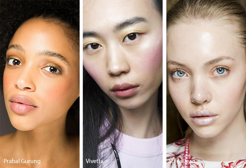 Fall/ Winter 2018-2019 Makeup Trends: Peachy Pink Blush