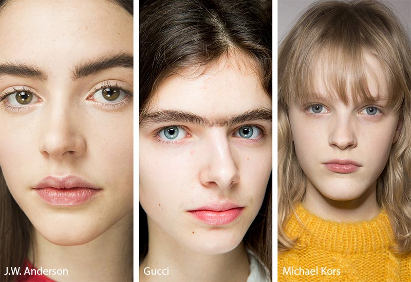 Fall/ Winter 2018-2019 Makeup Trends: No-Makeup Makeup