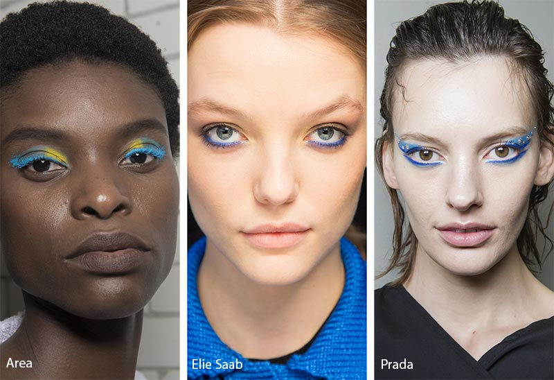 Fall/ Winter 2018-2019 Makeup Trends: Blue Eye Makeup