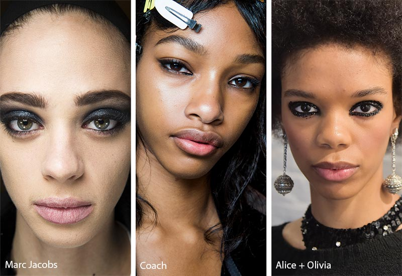Fall/ Winter 2018-2019 Makeup Trends: Waterlined Eye Makeup