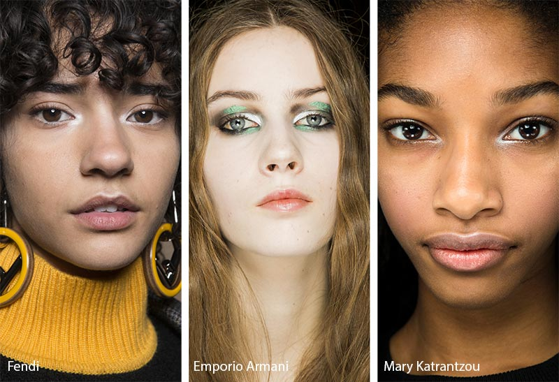 Fall/ Winter 2018-2019 Makeup Trends: Inner Corner Silver Eye Makeup