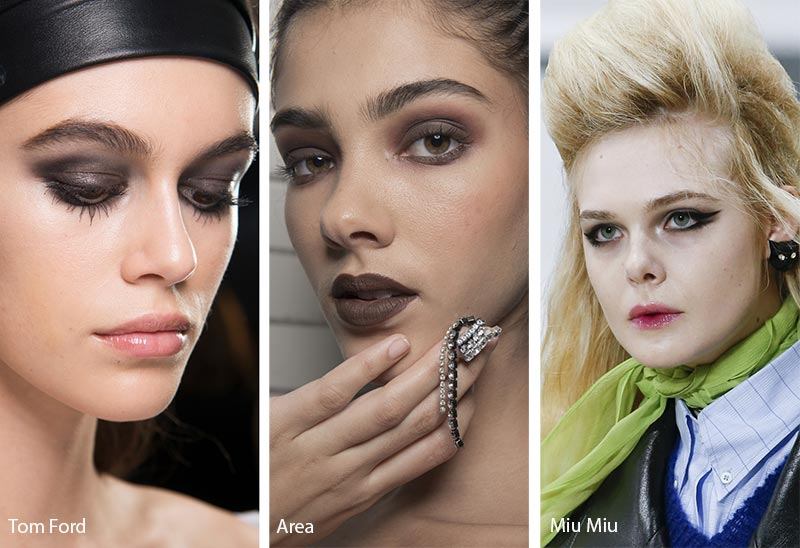 Fall/ Winter 2018-2019 Makeup Trends: Bedroom Smokey Eye Makeup