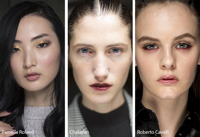 Fall/ Winter 2018-2019 Makeup Trends: Glossy Lipstick