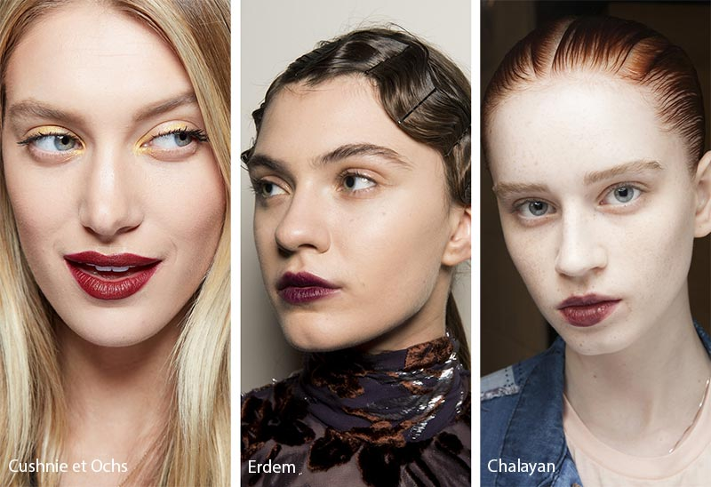 Fall/ Winter 2018-2019 Makeup Trends: Wine Lipstick